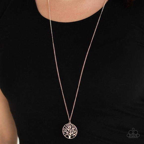 Paparazzi Jewelry Save The Trees Rose Gold Tree Necklace Set Poshmark